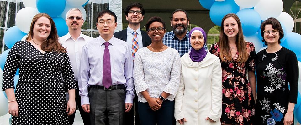 Dr. Hollis' Lab Team Photo