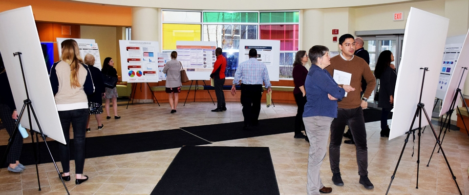2nd Annual Poster Day Displays Cutting-Edge Research