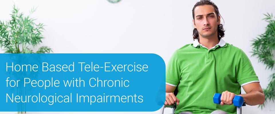 Participant in tele-exercise