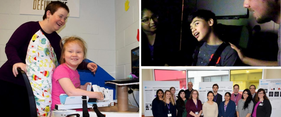 Photos of research at Blythedale
