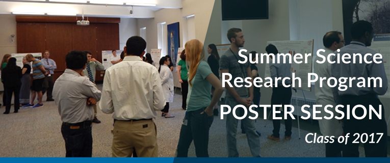 Summer Science Poster Session