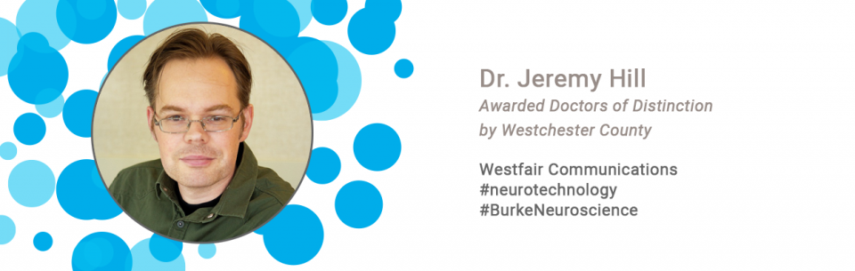 Dr. N. Jeremy Hill Awarded Doctors of Distinction by Westchester County