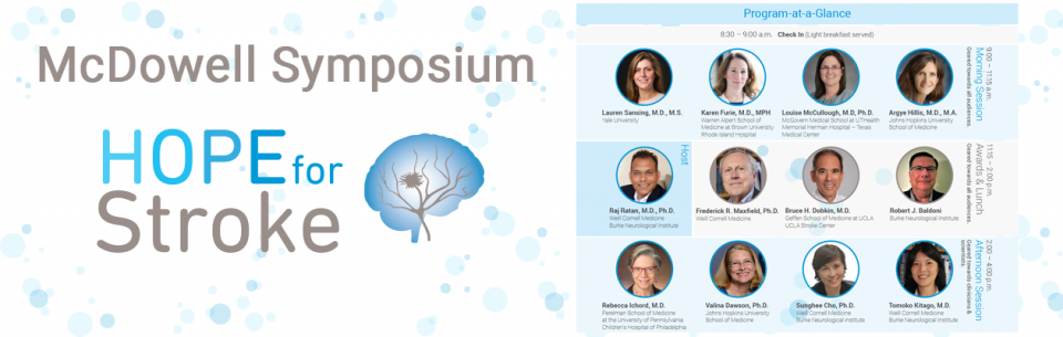 McDowell Symposium Hope for Stroke