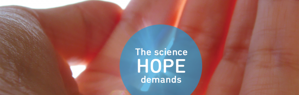 The science hope demands