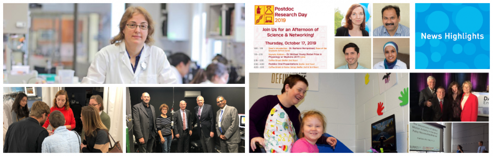 Photo collage of Sep - Oct News Highlights