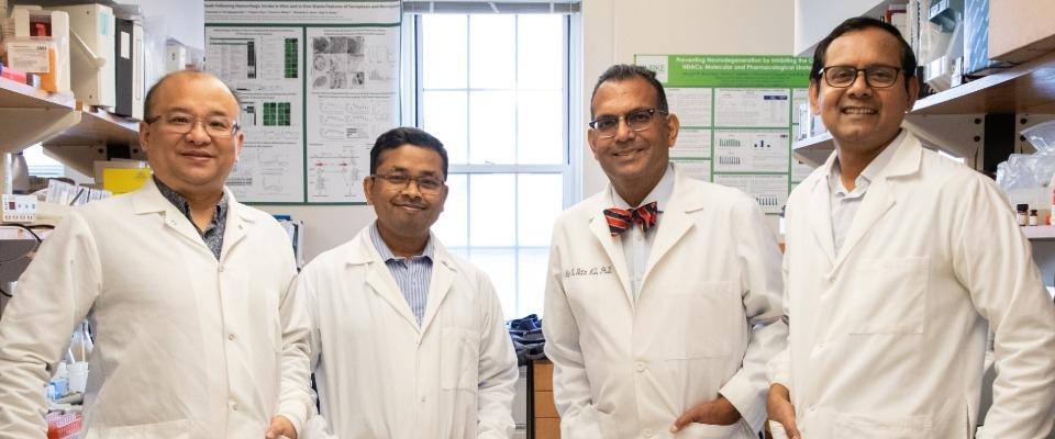 Photo of Raj, Saravanan, Amit, and Yingxin