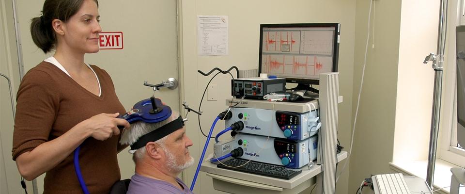 Fellow using non-invasive brain stimulation