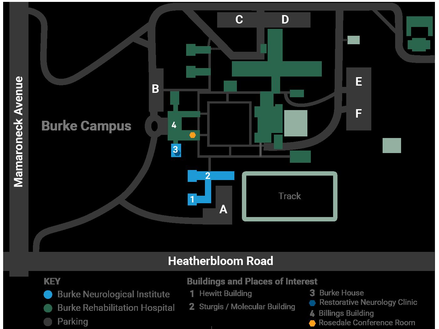 Burke Campus Map