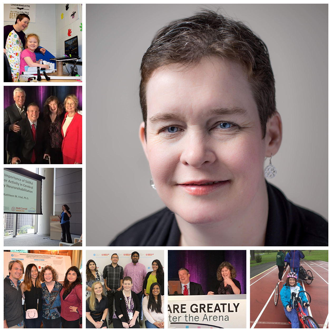 Photo collage of Kathleen