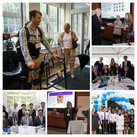 Symposium photo collage