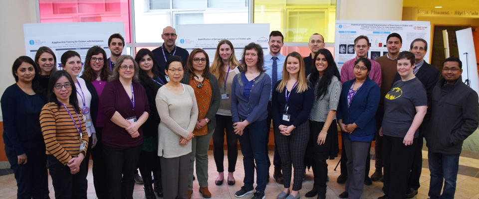 staff, clinicians, researchers and scientists at the 2nd Annual Poster Day