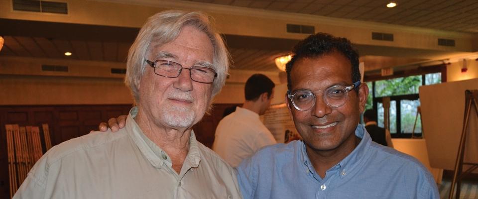 Keynote Speaker - Dr. V Reggie Edgerton and  Executive Director - Dr. Rajiv R. Ratan